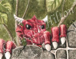 Blackgang Chine Dragon by Pignutt