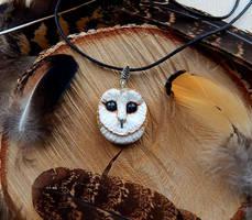 Owl talisman by koshka741