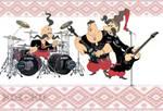 How cossacks.Played Rock by Mislovskyi