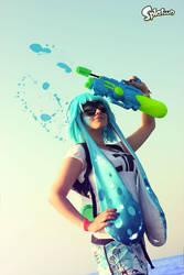 Inkiling girl Cosplay - Splatoon by CKibe