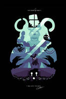 POSTER - Five nights at Freddy's 4 (LIGHTBLUE) by CKibe