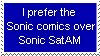 Another pro-Sonic comics stamp by Beau-Skunk