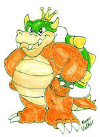 King Koopa SMBSS: Now kolored by Beau-Skunk