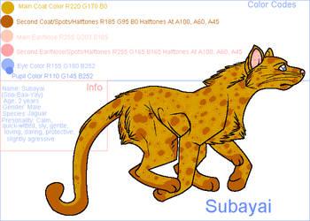 New Character .::Subayai::. by cptmercier