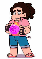 AU Steven universe by AngeliccMadness