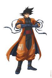 Goku concept by Geofffffff