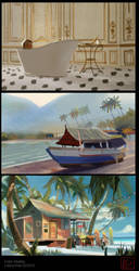 Color studies 1 by leticiakao