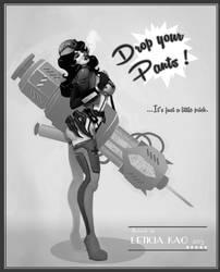 Nurse Poster - v.1 by leticiakao