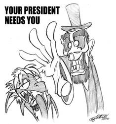 Your President Needs You by Vy-Chan