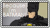 Because I'm BATMAN by MissGingerIce