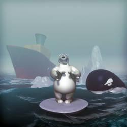 Urso Despolar 3d by fkaleo