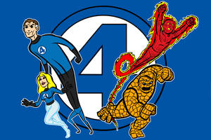 fantastic four color by AlanSchell