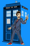 the 10th doctor by AlanSchell