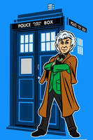 the third Doctor by AlanSchell