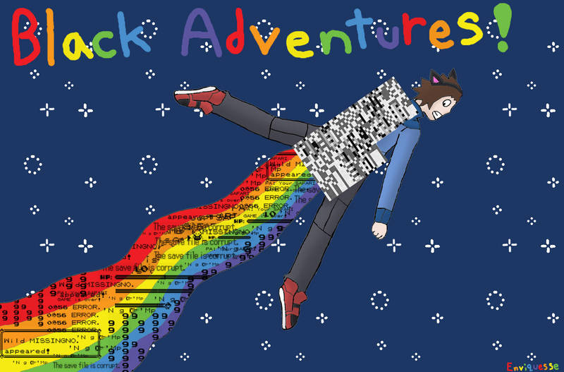 Black Adventures in Space by Enviquesse