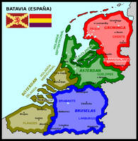 Map of Batavia (Spain) by matritum