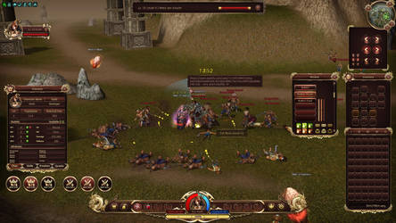Metin2 GUI Interface in game by KurlzDesign
