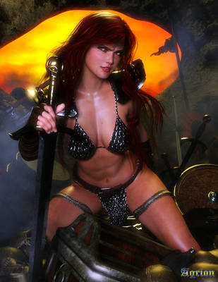 Red Sonja by Agr1on