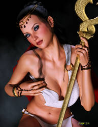 The Priestess by Agr1on