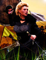Shield-Maiden Lagertha by Agr1on