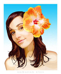 Hawaiian Eyes by indie-cisive