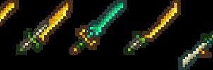 Elven Swords by Balduranne