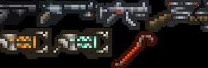 Half Life Weapons by Balduranne