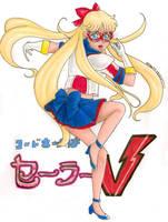 Codename Sailor V by pristinepanda