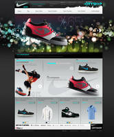 Nike Shop Ecommerce Design by avcibulent