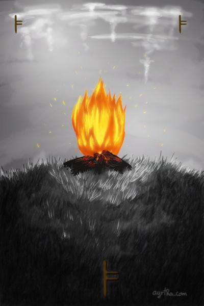 Ogam: Lus by Ayrtha