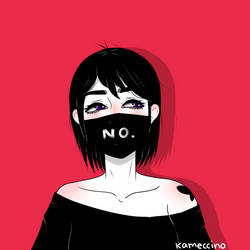 NO. by Kameccino