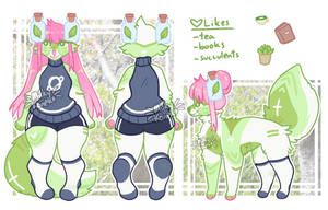 green tea blossom [adopt|closed] by MilkyKoneko