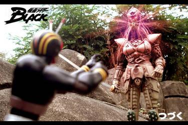 Mask Rider Black by spade13th
