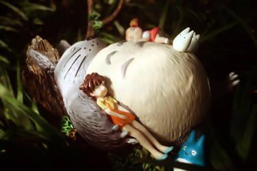 Tonari no Totoro by spade13th
