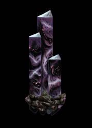 Nightstone Garnet by Galder