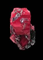 Rhodochrosite crystal by Galder