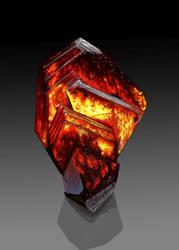 Wurtzite Crystal by Galder