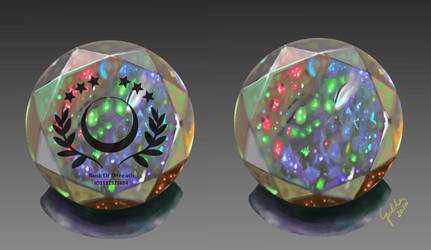 Stonebuck - Jelly opal variant by Galder