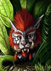 Druid danger eyes! by Galder