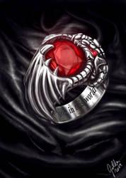 Dragon Signet Ring by Galder