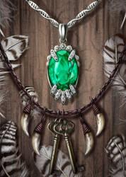 Kileanna's Necklace by Galder