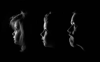 Olivia, Iain and Daddy by greyghostXXX