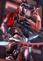 Blackwatch Genji by Its-Midnight-Reaper