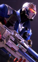 Soldier 76 by Its-Midnight-Reaper