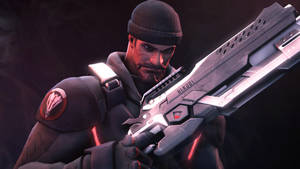Blackwatch Reyes by Its-Midnight-Reaper