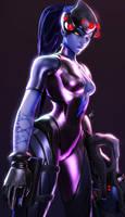 Neon Spyder by Its-Midnight-Reaper