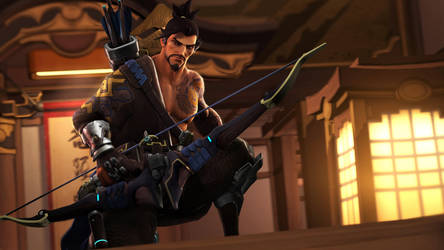 Hanzo by Its-Midnight-Reaper