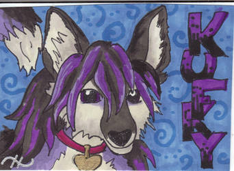 Kufky Badge Commission by rei-jin