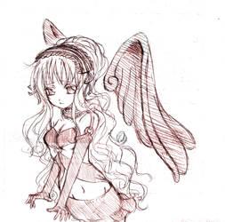 OC: Red Angel by Drug-Holic
