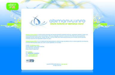 Abimanyu.info v5 by: Abimanyu by WebMagic